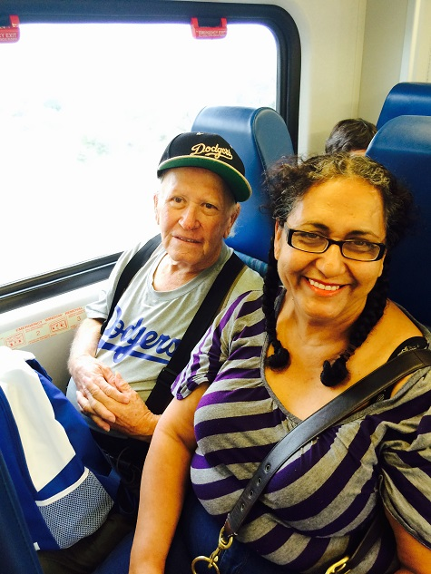 Ramiro and his wife are taking a train trip with our travel training workshop at BSS