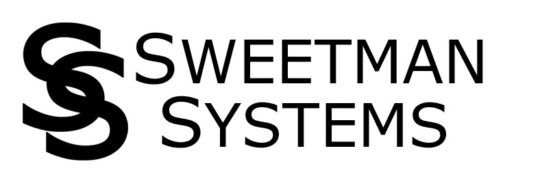 the Sweetman Systems Logo two overlapping S's next to the words Sweetman Systems